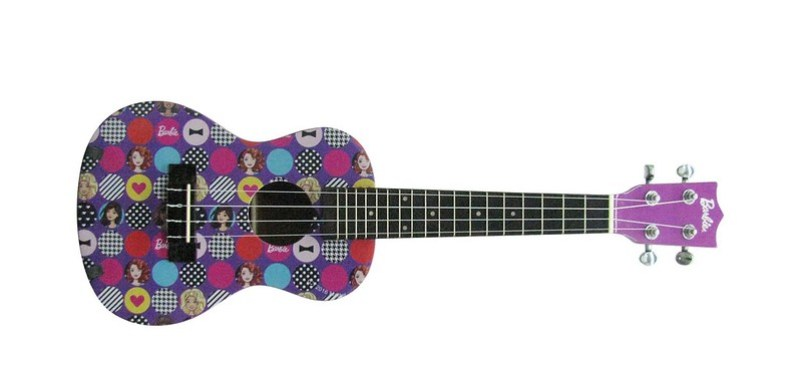 BARBIE DBA UKULELE PRINTED    VIOLET