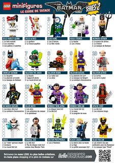 Collectible Minifigures The LEGO Batman Movie Series 2 (71020) - Guide de tâtage HelloBricks