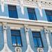 Art Nouveau house facade Riga