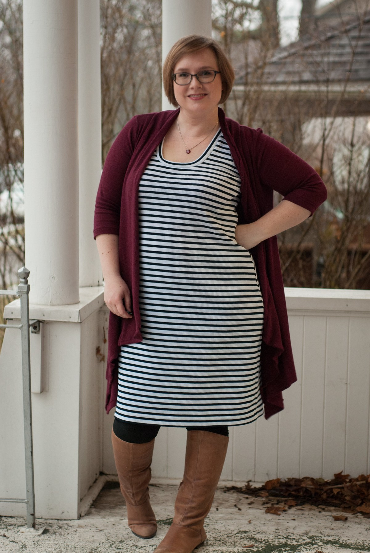 #SewStripes Nettie Dress