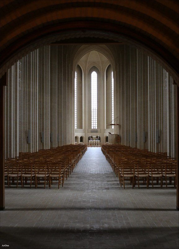 The Church Grundtvig in Copenhagen
