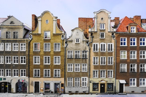 Old houses in Gdańsk