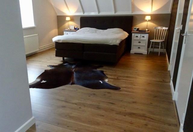 Boxspring slaapkamer landelijke stijl