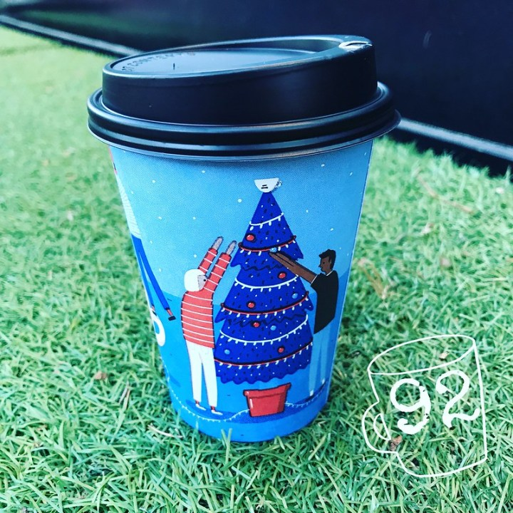V&A Christmas Cups