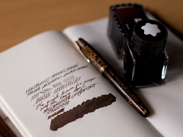 Montblanc Toffee Brown