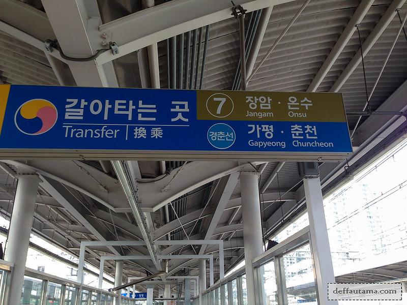 Nami Island - Sangbong Station