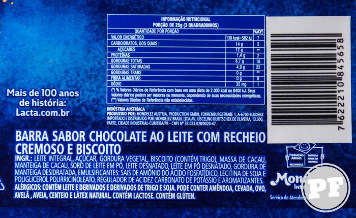 Lacta Specials Chocobiscuit por PratoFundo.com
