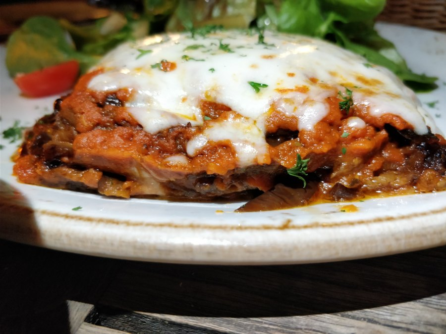Aberdeen Street Restaurant & Bar Hong Kong Eggplant Parmesan