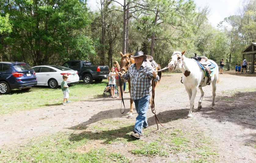 Al Thurston, Owner of Horsing Around Ranch in Lake Suzy, Fla.