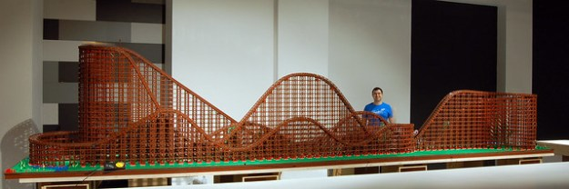 Lego Rollercoaster