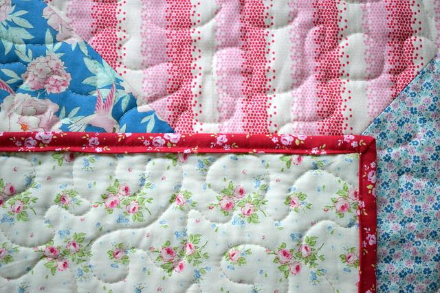 Tilda Lemon Tree Blog Hop: QST Mini Quilt