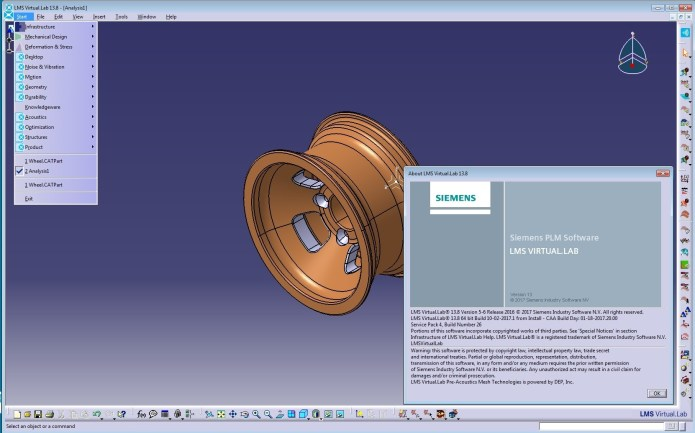 Working with Siemens LMS Virtual.Lab Rev 13.8 full