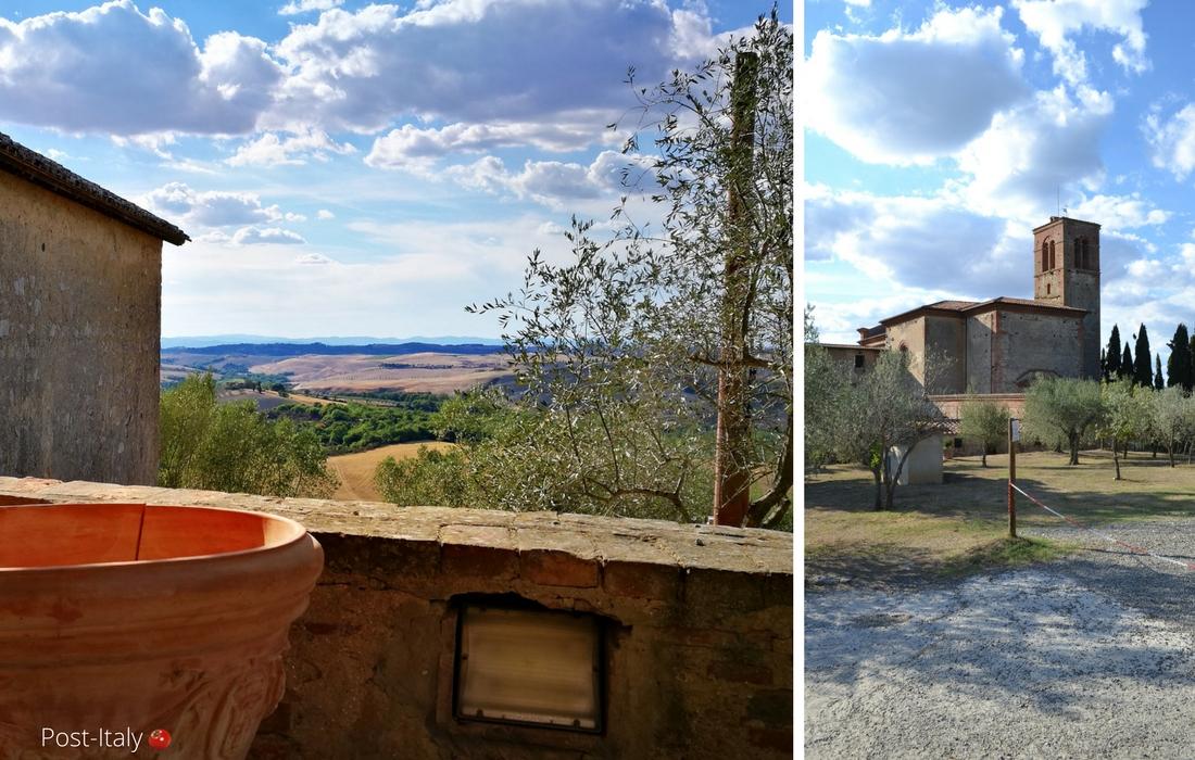 Sant´Anna in Camprena, Toscana