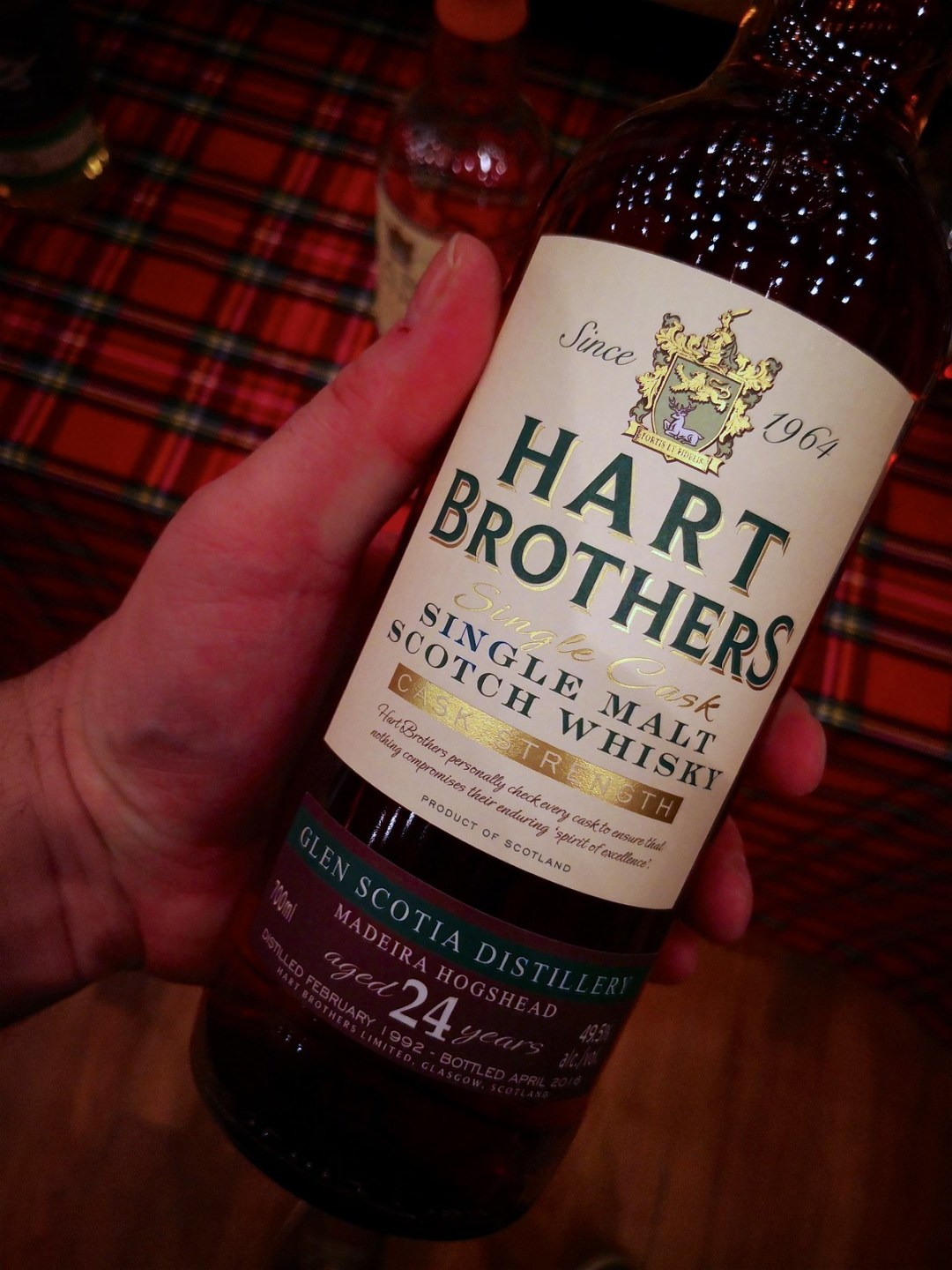 Glen Scotia 24 Years Old - Hart Brothers