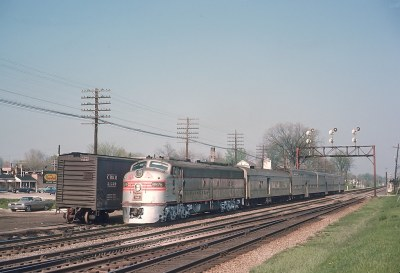 CB&Q 9976 Served 3 Railroads -- 4 Photos