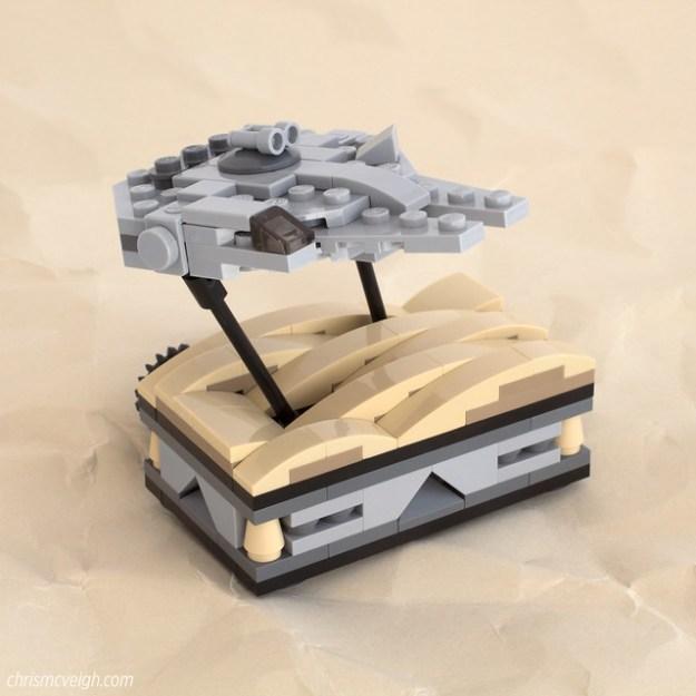 Falcon Over Jakku