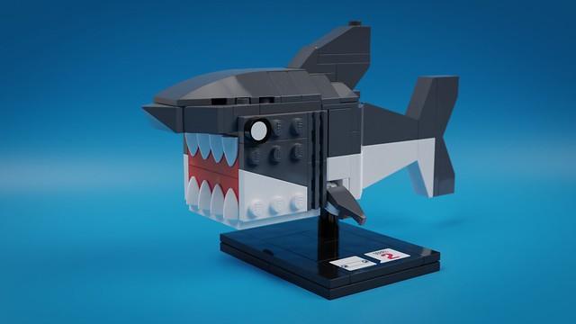 BrickHeadz Shark