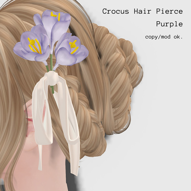 *NAMINOKE*Crocus HairPierce
