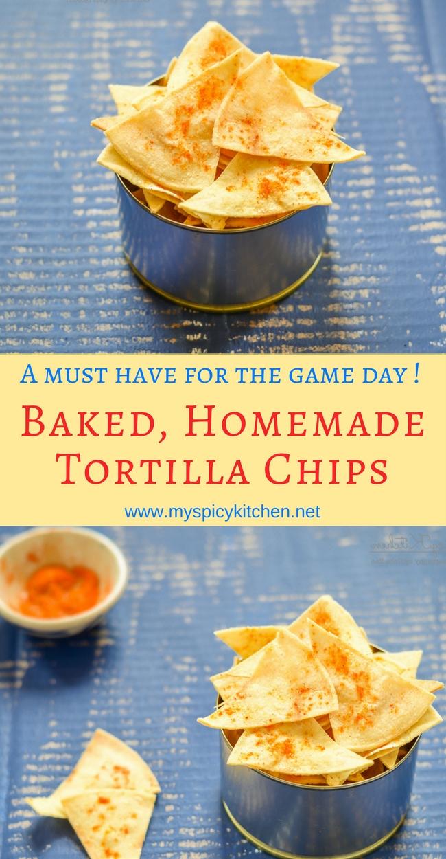 Semi homemade corn tortilla chips