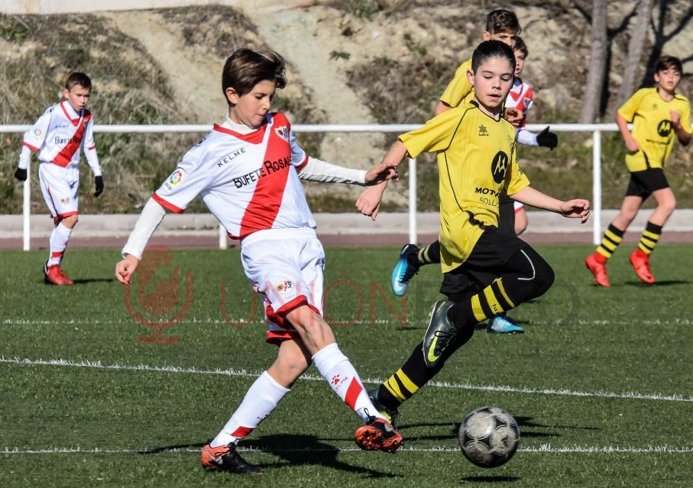 Alevín A 6-0 Villaverde Bajo