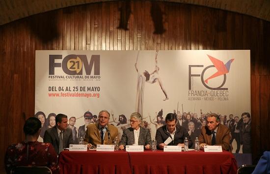 Anuncian programación del Festival Cultural de Mayo