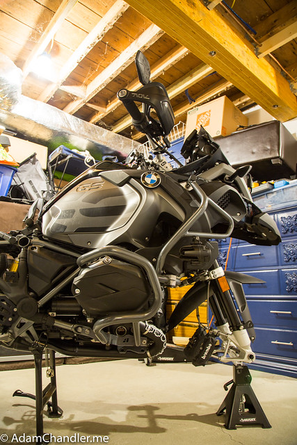 R1200GS Adventure Triple Black + AltRider Crash Bars