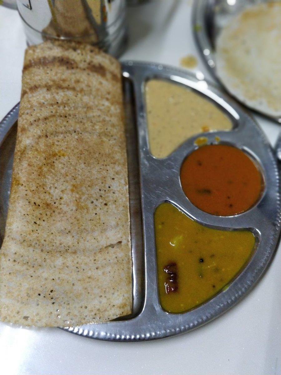Veloo Villas George Town Penang Malaysia India Vegetarian Restaurant Dosa