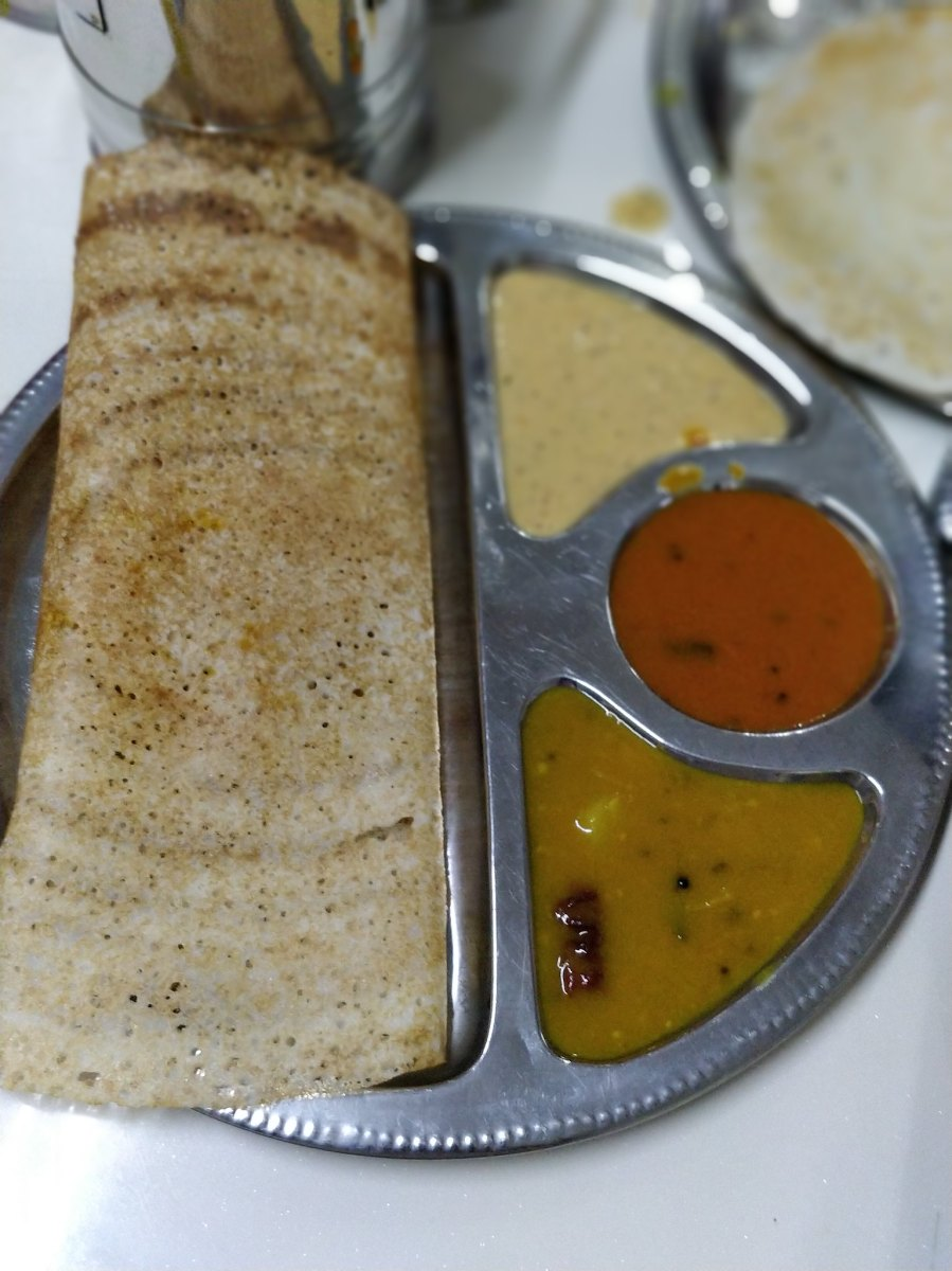 Veloo Villas George Town Penang Malaysia India Vegetarian Restaurant