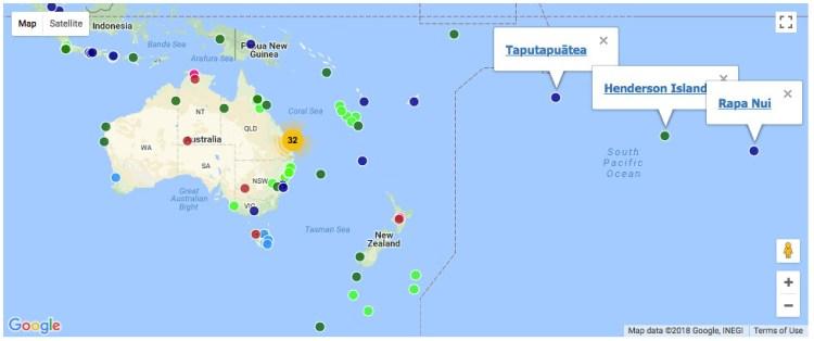 Oceania WHS