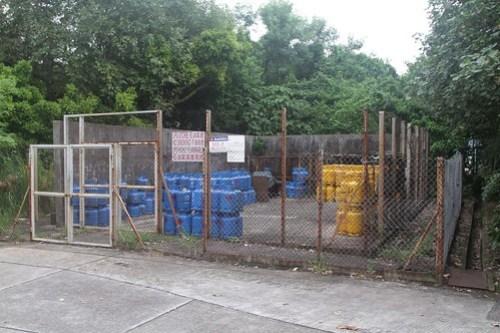 Shell Gas LPG bottle depot on Tai Lei
