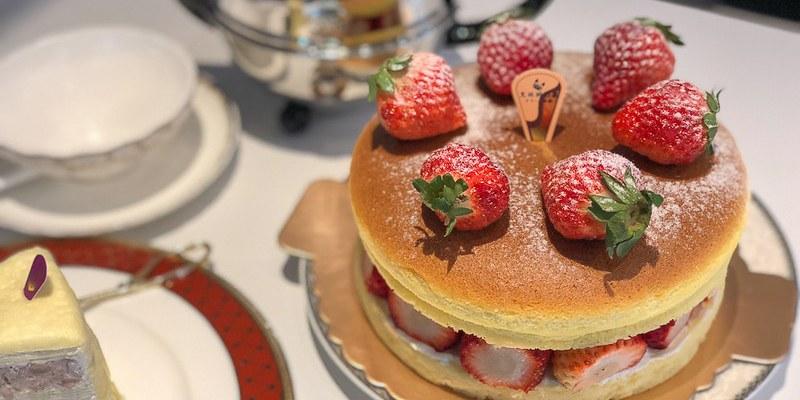 台南美食千層 東寧路新風格呈現,季節限定的草莓乳酪香。「克林姆之屋」|千層蛋糕|東寧店|西門店|
