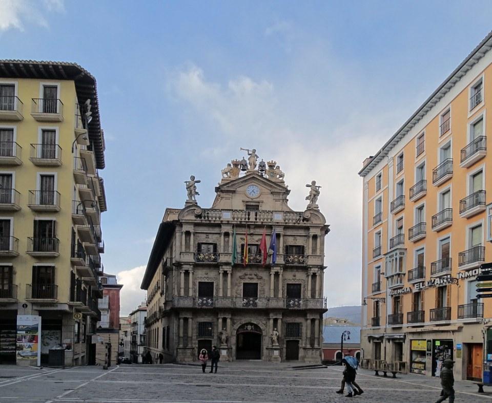 Ayuntamiento Plaza Consistorial Pamplona 02