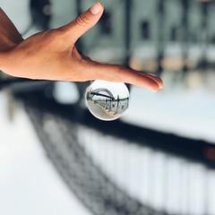 #iconic #glass #ball #reflections #harbourbridge @sydney @visitnsw @australia #ilovesydney #sydney #summer #newsouthwales #wanderlust #travel #australia #seeaustralia #sydneyfolk #australiagram #sydneytravel #travel #guardiantravelsnaps #guardiancities #l