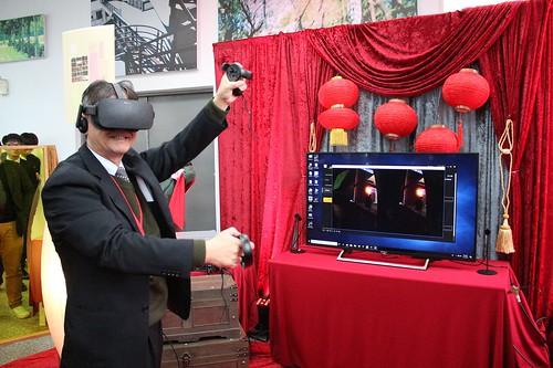 元智大學校長體驗VR