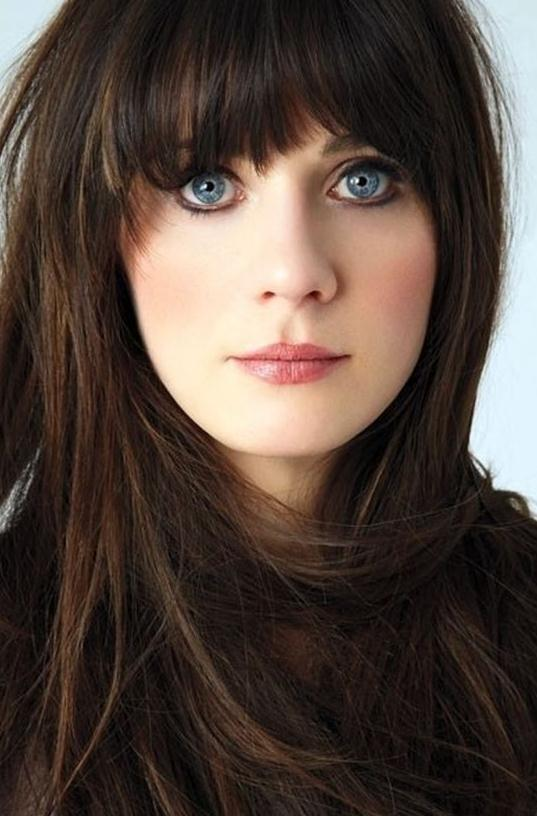 +15 Bangs Hairstyles&Haircuts 2018 for Women