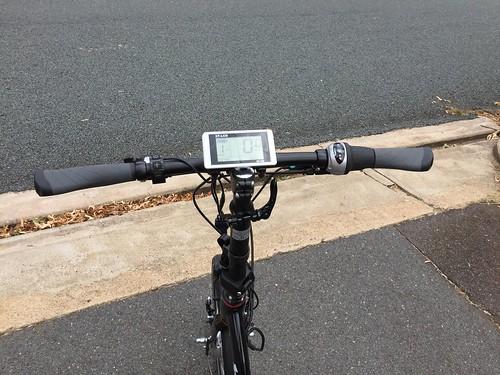 Bicycle - electric - handlebars, gears & speedometer