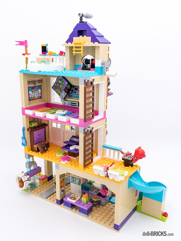 REVIEW LEGO Friends 2018 - LEGO 41340 Friendship House 2