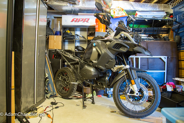 Naked R1200 GS Adventure  Powdercoating