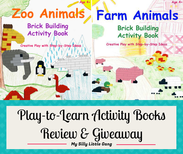 Play-to-Learn Activity Books Review & Giveaway