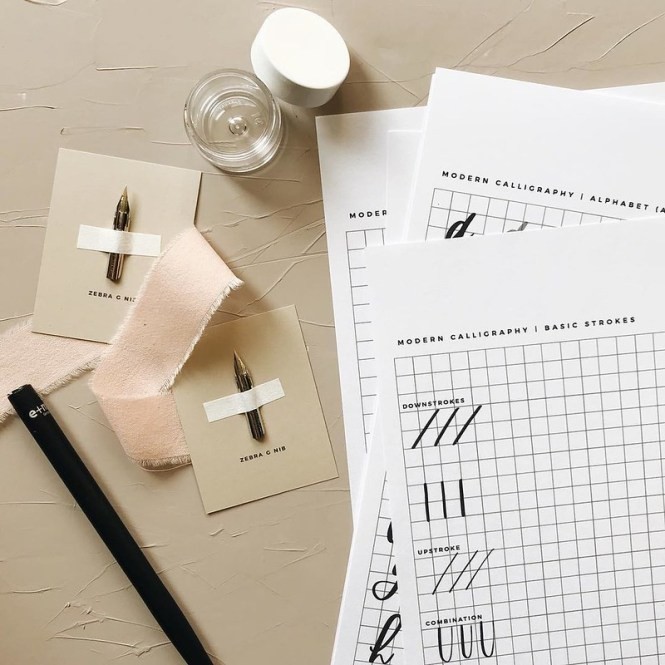 Euni + Co. Seattle calligraphy and paper goods
