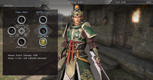 Dynasty Warriors 9 - Elaboración de gemas