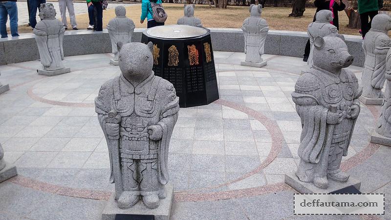 5 hari di Seoul - Patung Shio