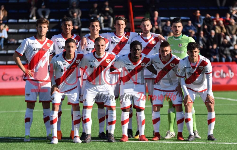 Atlético Pinto 0-2 Rayo B