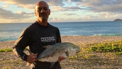 First catch 2018 ! Aloha Jimbo