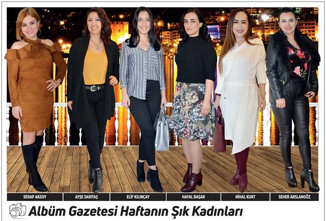 Serap Aksoy, Ayşe Sarıtaş, Elif Kılınçay, Hayal Başar, Nihal Kurt, Seher Arslangöz