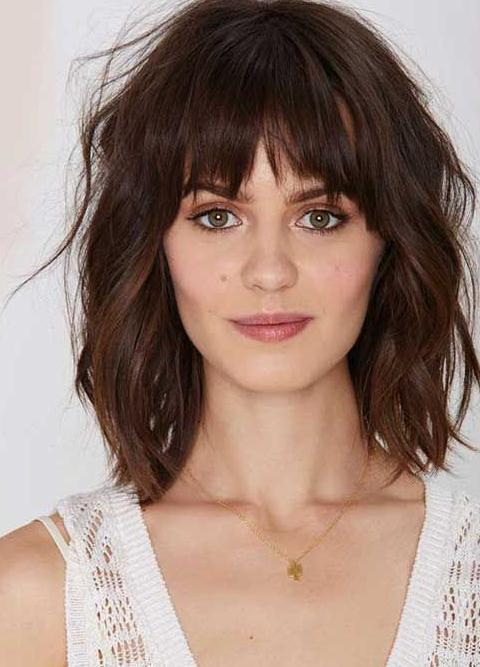 Bangs Hairstyles&Haircuts 2018 for Women