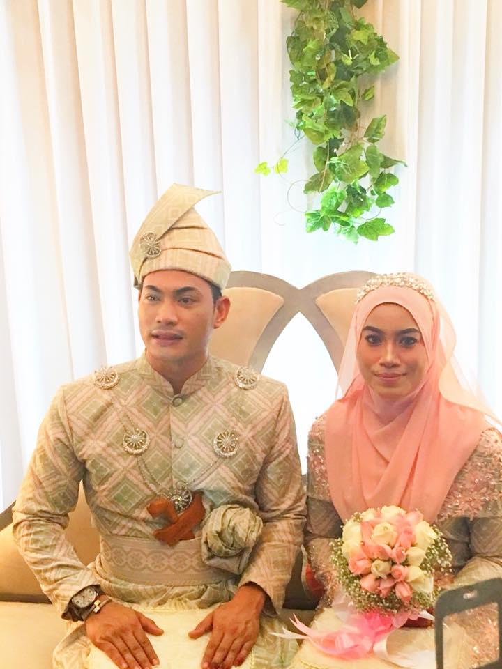 Pelakon Amaris (Amran Ismail) Nikah Dengan Bekas Ustazah