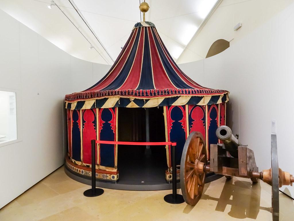 Jaima o Tienda de campaña de Muley Abbas Marruecos Museo del Ejercito Alcazar de Toledo