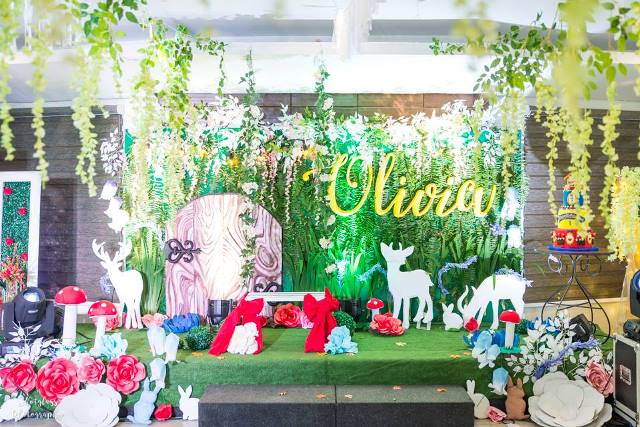 Olivia S Snow White And The Enchanted Forest Theme Party 1st