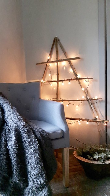 Kerstdecoratie sober